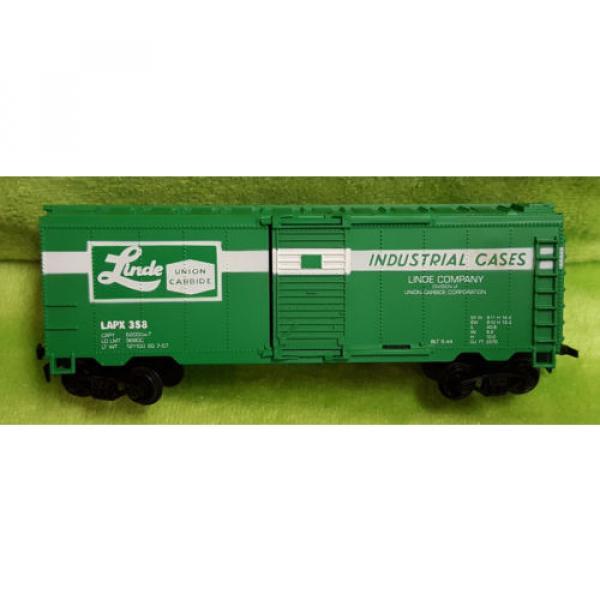 Life Like HO Scale 8475 40' Box Car Linde Union Carbide Car - Boxed #5 image