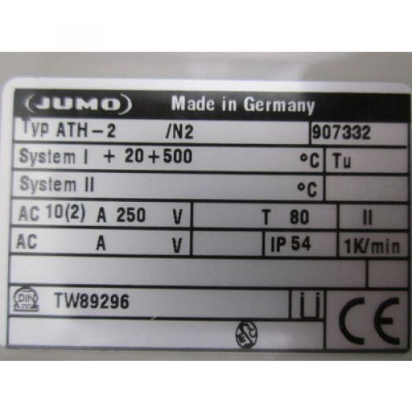 LINDE AG ATH-2 THERMOSTAT ATHF-2 TS2-7 +100 +500 STATIO #3 image
