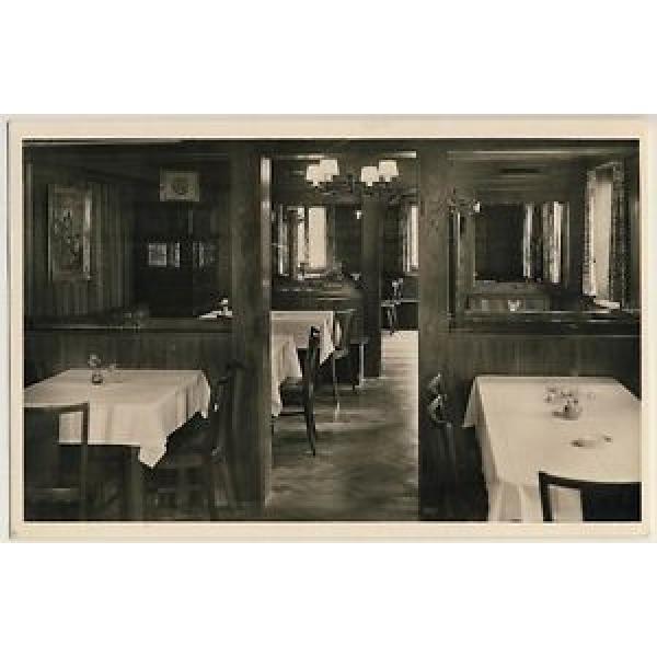 STETTEN REMSTAL Weinstube Metzgerei Linde / Herbert Idler * Foto-AK um 1950 #1 image