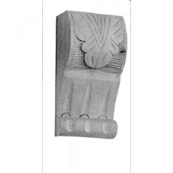 Möbelschnecken Linde Schrank Antikdeko Kommoden Ornament Restaurierungsbedarf #2 image