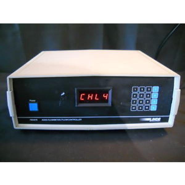 Linde Union Carbide Mass Flow Meter Controller FM4575 Control Four Channel 4 CH #1 image