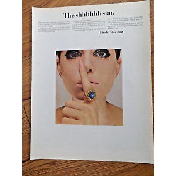 1967 Linde Star Jewelry Ad  The Shhhhhh Star #1 image