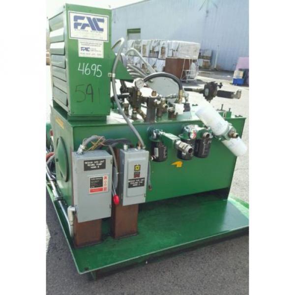 FAC Hydraulic Pump Unit 40 HP, 30 HP, 1.5 HP 300 psi #6 image