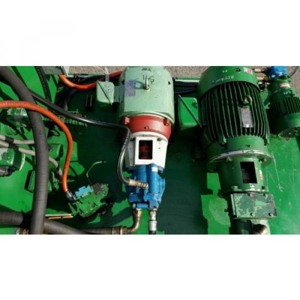FAC Hydraulic Pump Unit 40 HP, 30 HP, 1.5 HP 300 psi #7 image