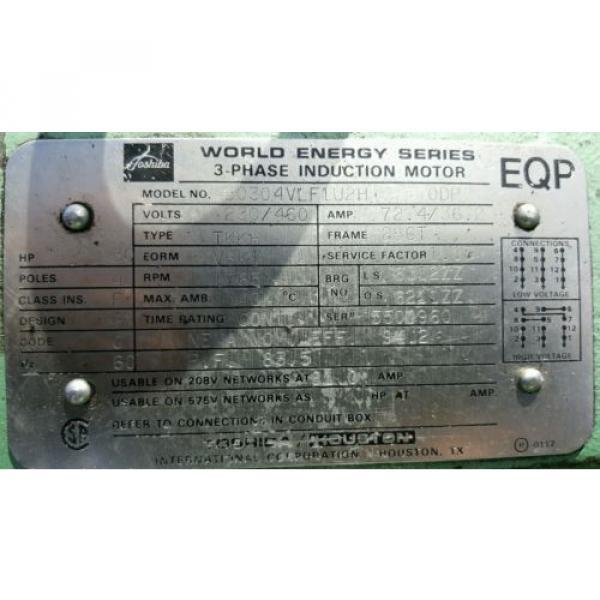FAC Hydraulic Pump Unit 40 HP, 30 HP, 1.5 HP 300 psi #10 image
