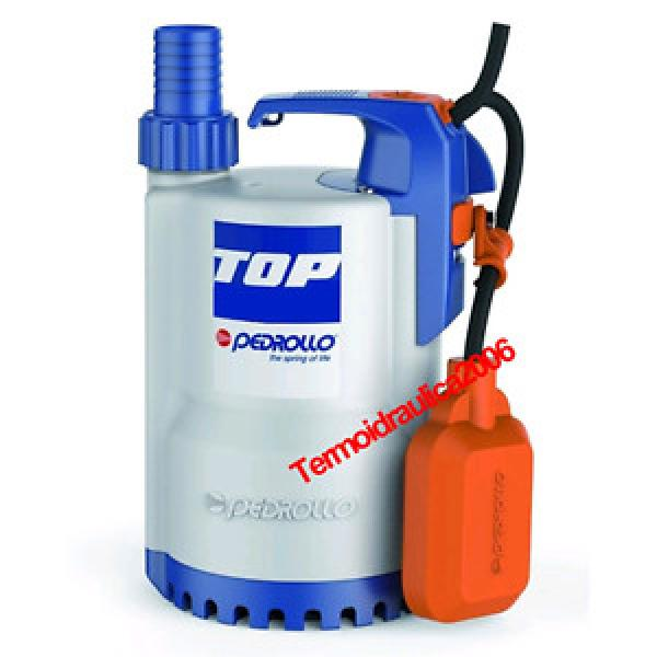 Submersible DRAINAGE Electric Pump clear water TOP3 5MT 0,75Hp 240V Pedrollo Z1 #1 image