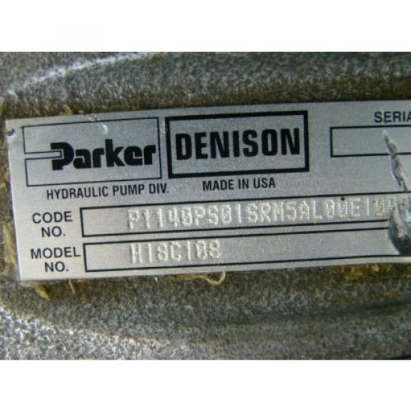 PARKER  DENISON  P1 AXIAL PISTON  PUMP 172 SHAFT    93E-93182 H18C108 #10 image