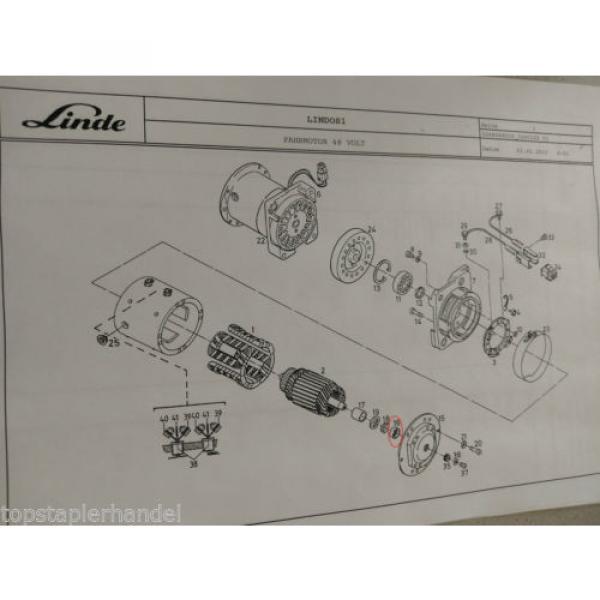 Needle Roller Bearings Warehouse Traction Motor 42x30 Linde No. 009248270 Type #3 image