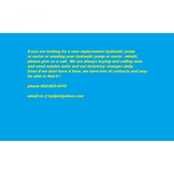 Sauer DanFoss 20 Series sundstrand rotating group spv2/033 SMV2/033 #3 image
