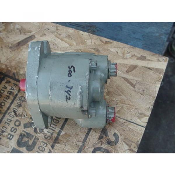 origin Eaton Cessna hydraulic gear pump 24206 LAS 24206LAS tang drive #1 image
