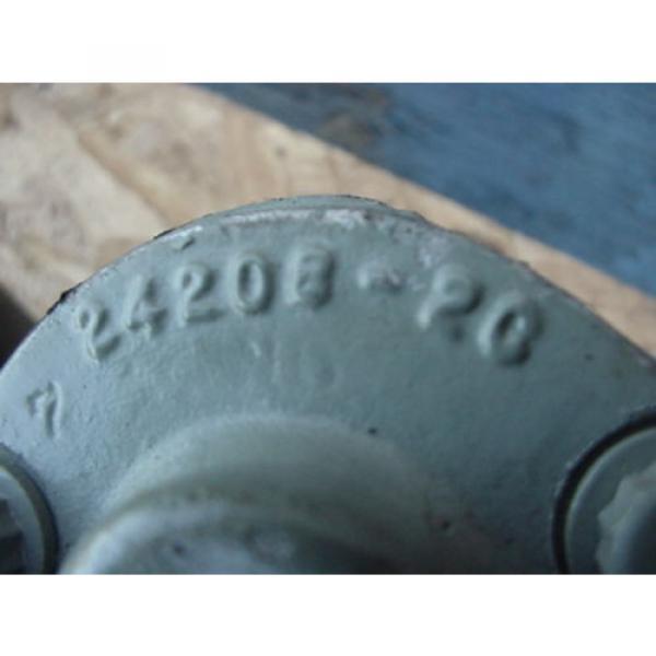 origin Eaton Cessna hydraulic gear pump 24206 LAS 24206LAS tang drive #3 image