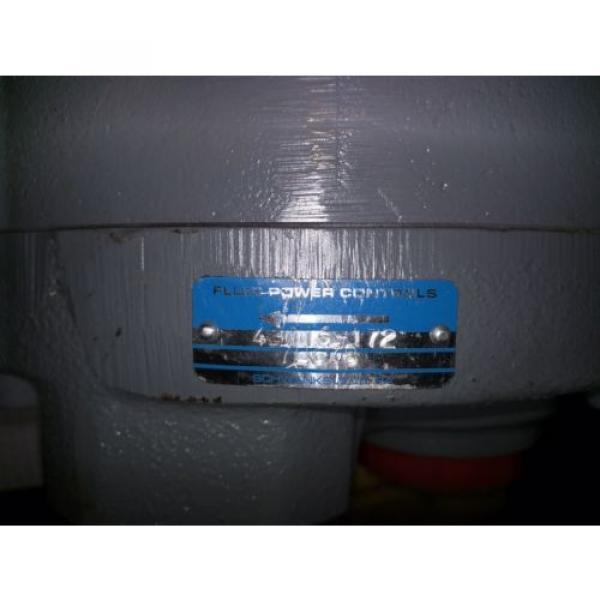 FLUID POWER CONTROLS HYDRAULIC PISTON PUMP 43016-172 PA230-PCR-BBOX-D #3 image