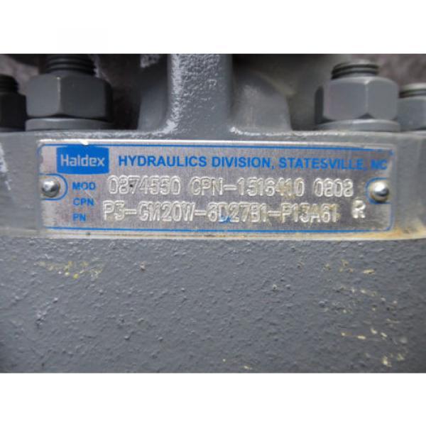 NEW HALDEX HYDRAULIC PUMP 0874550 # P3-GM20W-6D27B1-P13A61R # 1516410-0808 #4 image