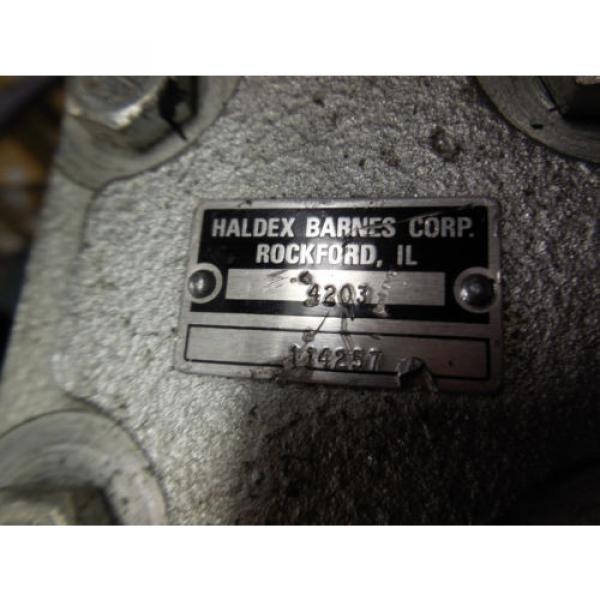 NEW HALDEX BARNES HYDRAULIC PUMP # 114257 #3 image