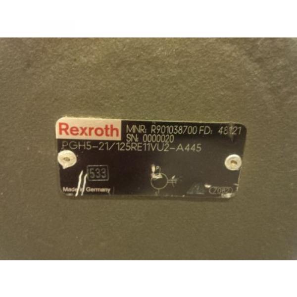 Rexroth Germany Germany hydraulic gear pump PGH5 size 125 #3 image