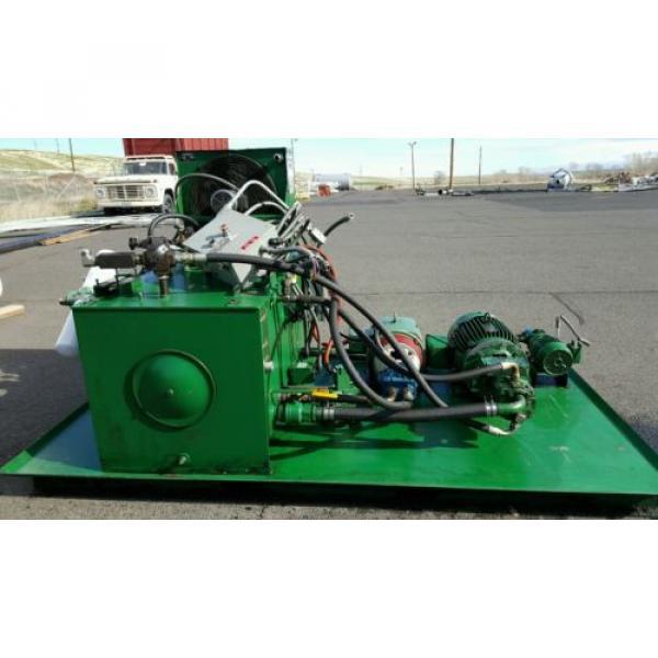 FAC Hydraulic Pump Unit 40 HP, 30 HP, 1.5 HP 300 psi #2 image