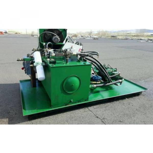FAC Hydraulic Pump Unit 40 HP, 30 HP, 1.5 HP 300 psi #3 image