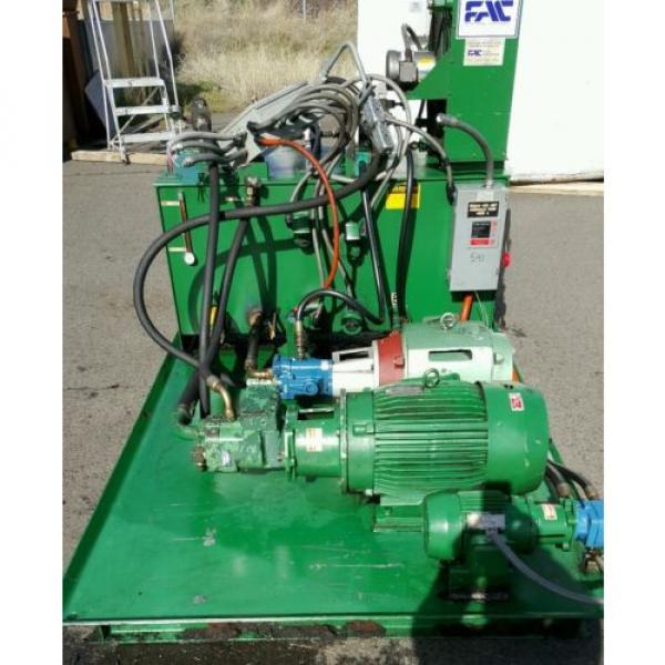 FAC Hydraulic Pump Unit 40 HP, 30 HP, 1.5 HP 300 psi #4 image
