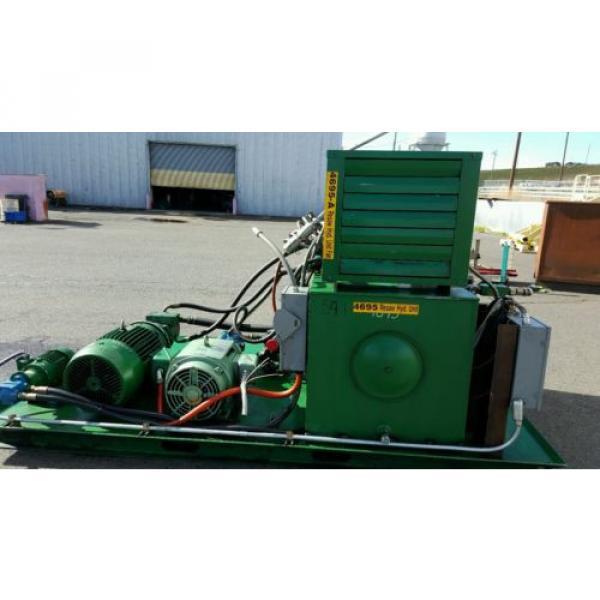FAC Hydraulic Pump Unit 40 HP, 30 HP, 1.5 HP 300 psi #5 image