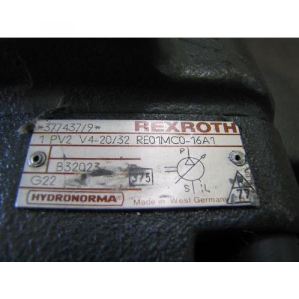 REXROTH Italy Russia 1PV2V3-31/63RG01MC100A1 1PV2V4-20/32RE01MC0-16A1 VANE HYDRAULIC PUMP #4 image