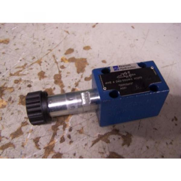 NEW Italy Germany REXROTH 4WE 6 D62/EG24K4 SO293 HYDRAULIC DIRECTIONAL VALVE #1 image