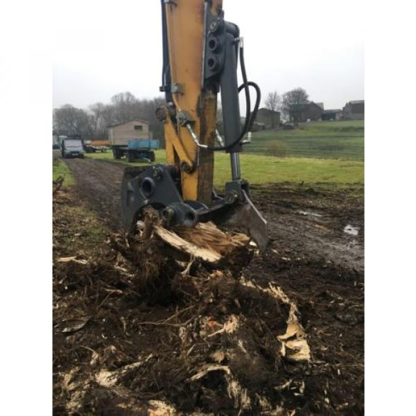 13 Ton Excavator Tree Stump Shear - Root Shear Root Harvester  CAT JCB KOMATSU #1 image