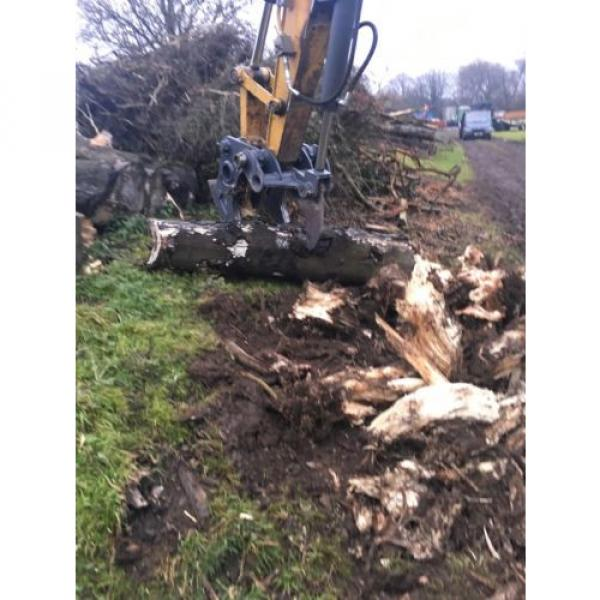 13 Ton Excavator Tree Stump Shear - Root Shear Root Harvester  CAT JCB KOMATSU #3 image