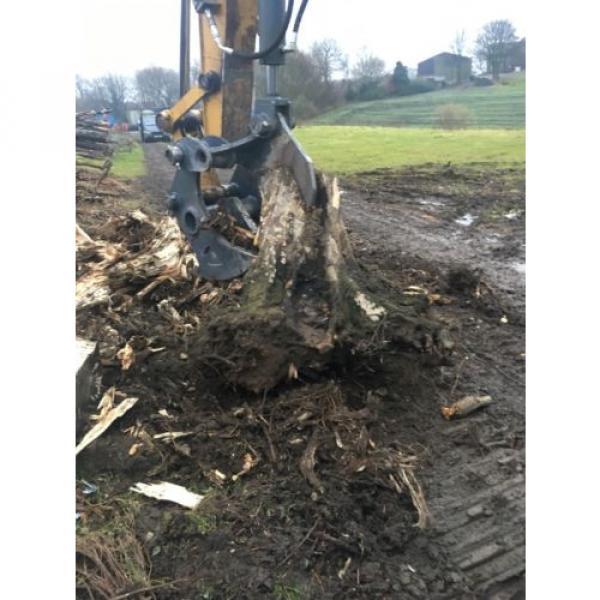 13 Ton Excavator Tree Stump Shear - Root Shear Root Harvester  CAT JCB KOMATSU #5 image