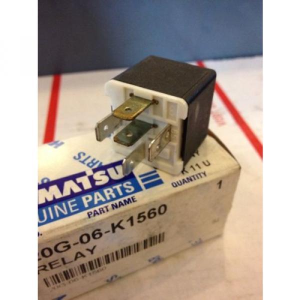 New OEM Komatsu Genuine Parts Relay 20G-06-K1560 Warranty! Fast Shipping! #3 image