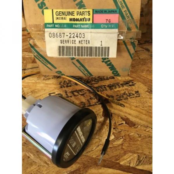 08687-22403 Genuine Komatsu Service Meter #1 image