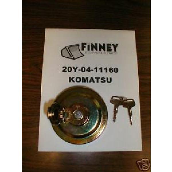 Komatsu Excavator Locking Fuel Cap 20Y-14-11160 NEW key #1 image