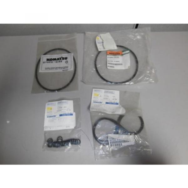 New Genuine Komatsu O Ring Set 07002-11423 07000-12135 07000-15155 OEM *NOS* #1 image