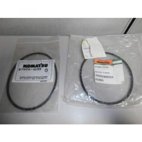 New Genuine Komatsu O Ring Set 07002-11423 07000-12135 07000-15155 OEM *NOS* #3 image