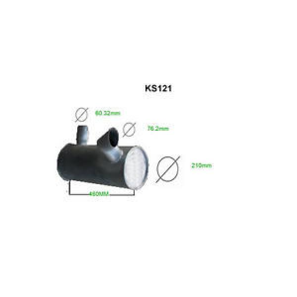 KOMATSU PC130-6 EXHAUST SILENCER   BRAND NEW #1 image