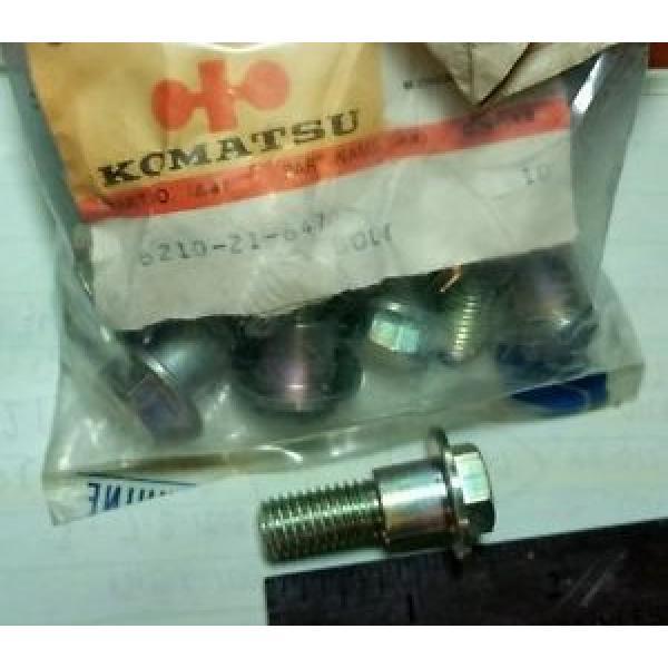 (QTY-10)  6210-21-6470 BOLT  KOMATSU ONAN 186-1838 #1 image