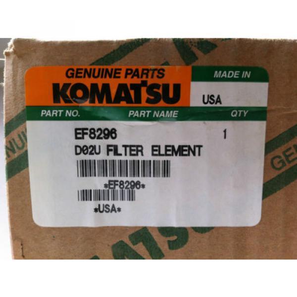 NEW KOMATSU EF8296 HYDRAULIC FLUID FILTER CARTRIDGE (SET OF 9) #2 image