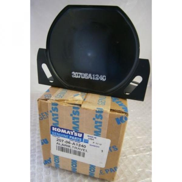 Komatsu Alarm,Travel 207-06-A1240 NEW #1 image