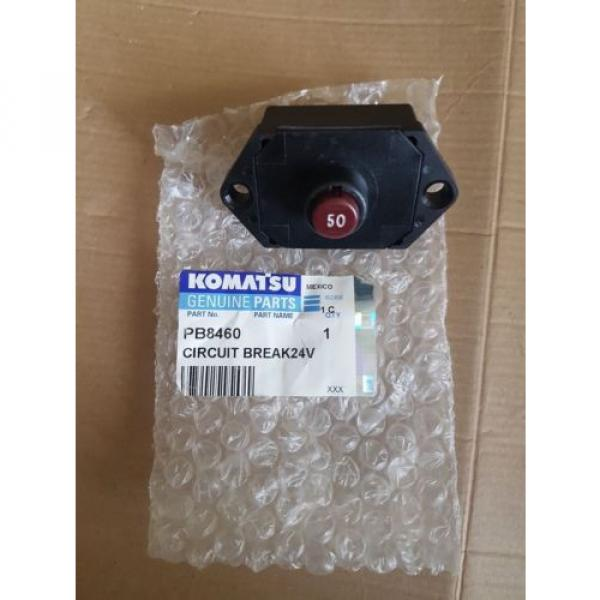 New Komatsu Circuit Breaker 24V 50AMP PB8460 #1 image