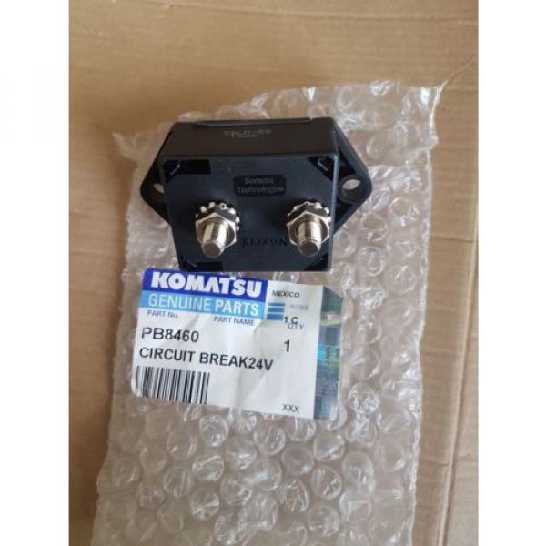 New Komatsu Circuit Breaker 24V 50AMP PB8460 #2 image