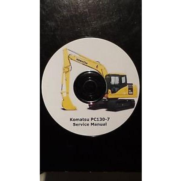 KOMATSU PC130-7 EXCAVATOR SERVICE MANUAL ON CD *FREE POSTAGE* #1 image