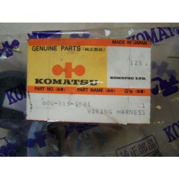 Komatsu D155 Auto Prime System Wiring Assy- Part# 600-815-1581 Unused in Package #3 image