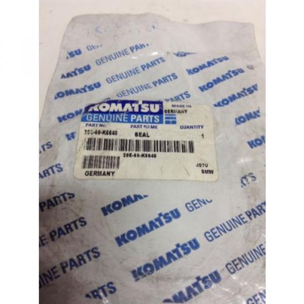 *NEW* GENUINE KOMATSU SEAL  PART # 20E-60-K6640! *Warranty* *Fast Shipping* #2 image