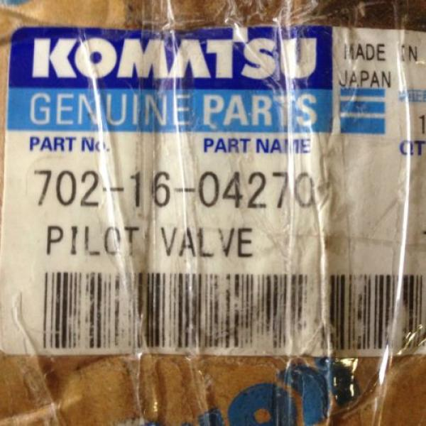 Komatsu Pilot Valve Pt# 702-16-04270 #4 image