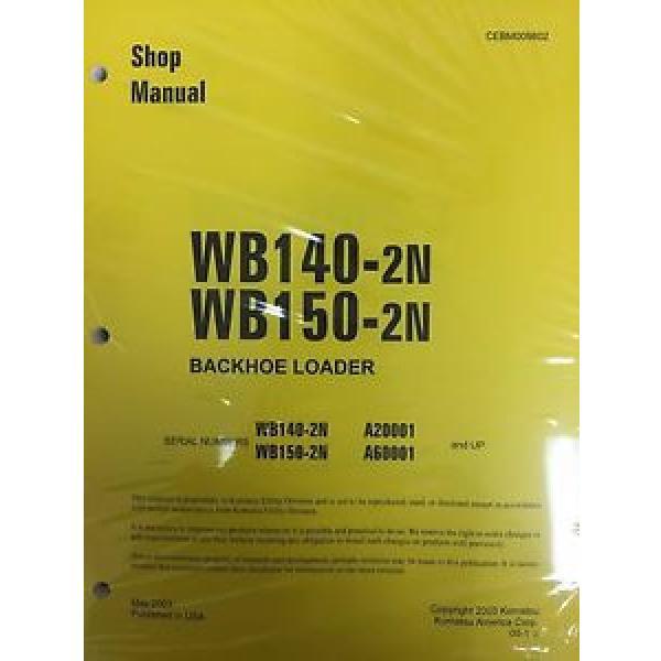 Komatsu WB140PS-2N, WB150PS-2N Backhoe Service Shop Manual #1 image