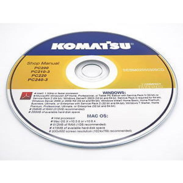 Komatsu PC15R-8 Hydraulic Excavator Shop Workshop Repair Service Manual #1 image