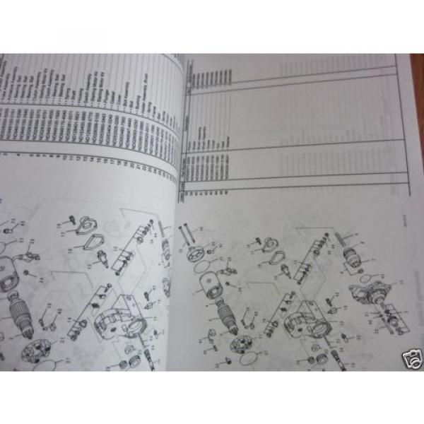 KOMATSU HYDRAULIC EXCAVATOR PC228USLC-10 PARTS BOOK SER # 1001 AND UP #3 image