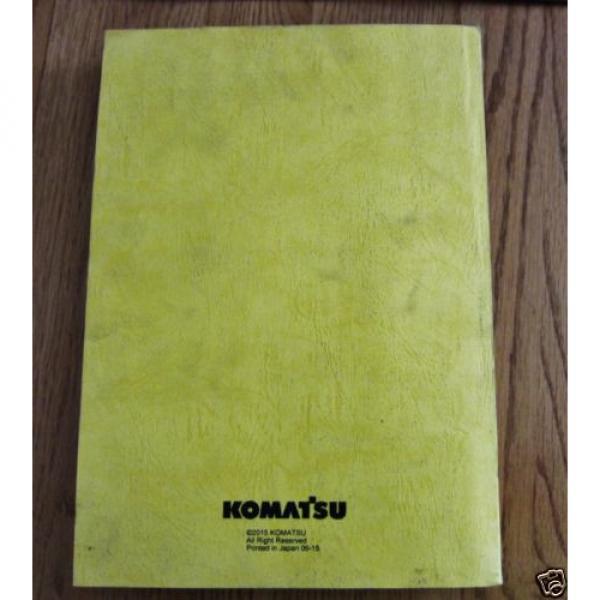 KOMATSU WHEEL LOADER WA200-7 PARTS BOOK SER # 80262 AND UP #2 image