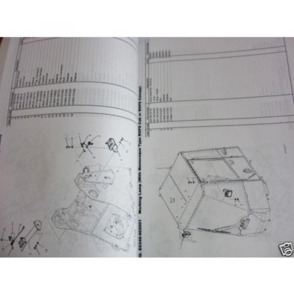 KOMATSU WHEEL LOADER WA200-7 PARTS BOOK SER # 80262 AND UP #3 image