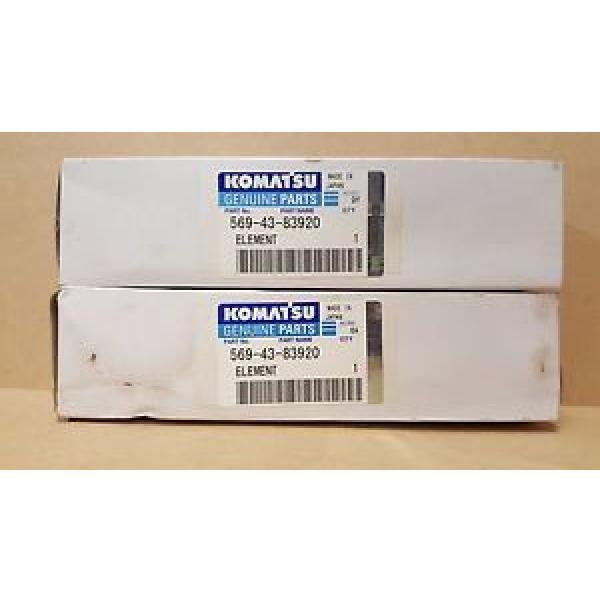 Komatsu 569-43-83920 Filter (Qty 2) #1 image