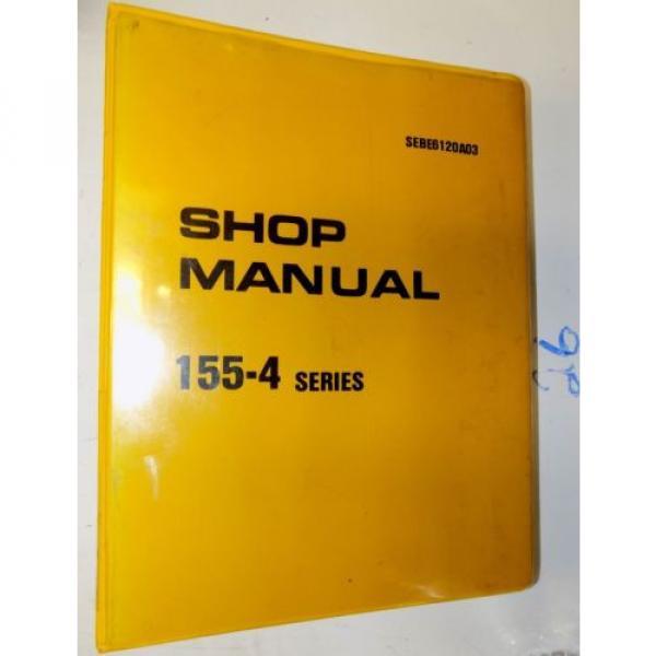 KOMATSU 155-4 SERIES ENGINE SHOP MANUAL #1 image